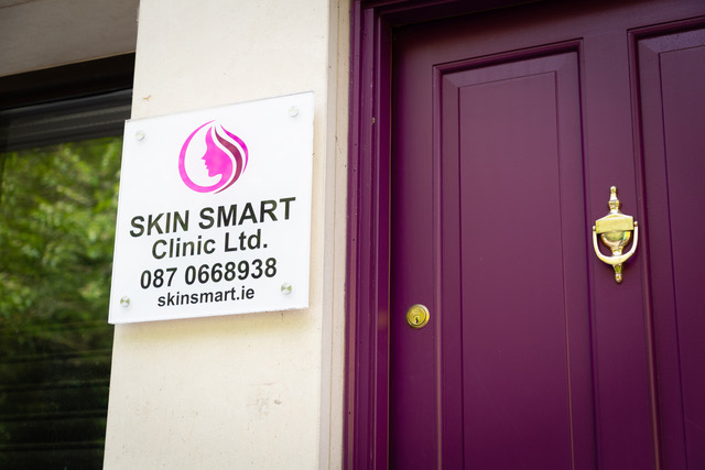 Signage Skin Smart Outside Door Knocker