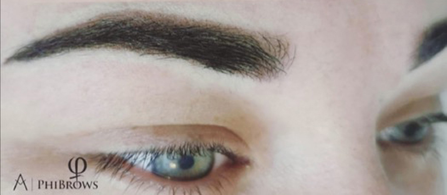 Phi Powder Brows - After Treatment