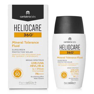 Heliocare 360º Mineral Tolerance Fluid SPF50